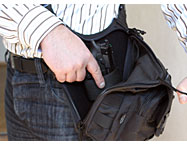 Shoulder Bag With Concealed Sprinfield Holster, It.519 MKII